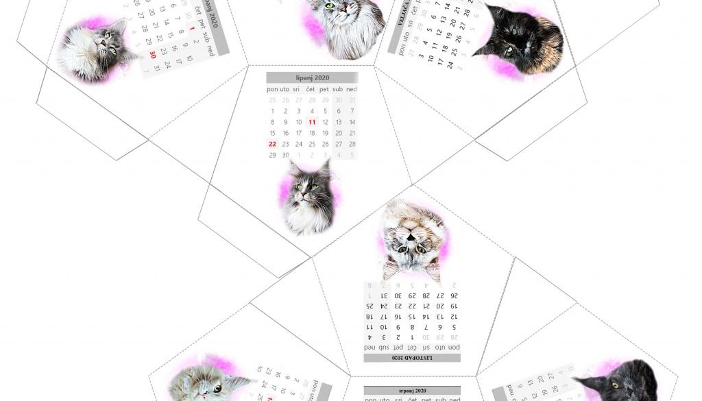 Sretna nova godina – poklon kalendar
